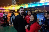 Jeremy, his wife Sushma and their daughter Kim