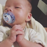 Teaching our little boy how to pray!